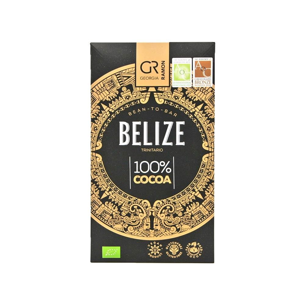 Georgia Ramon - Dunkle Schokolade Belize, 100% Kakaoanteil