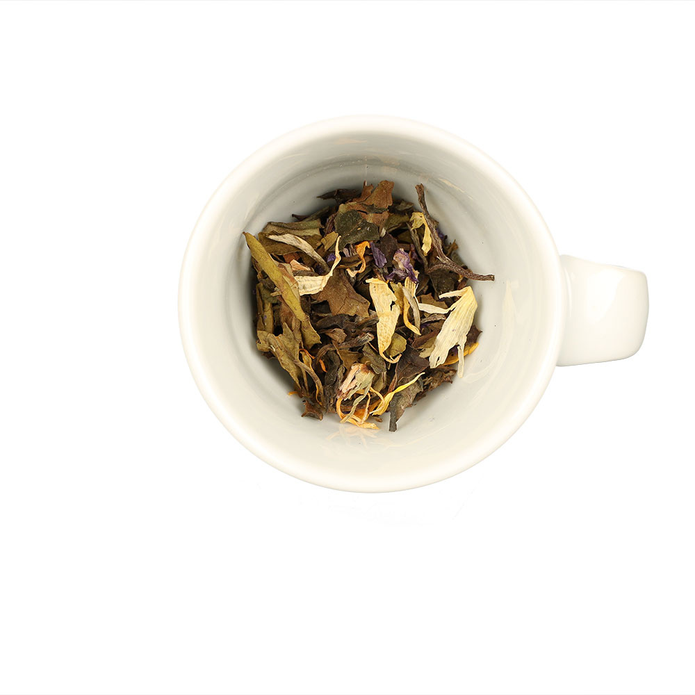 Aromatisierter Weißer Tee mit Maracuja Geschmack