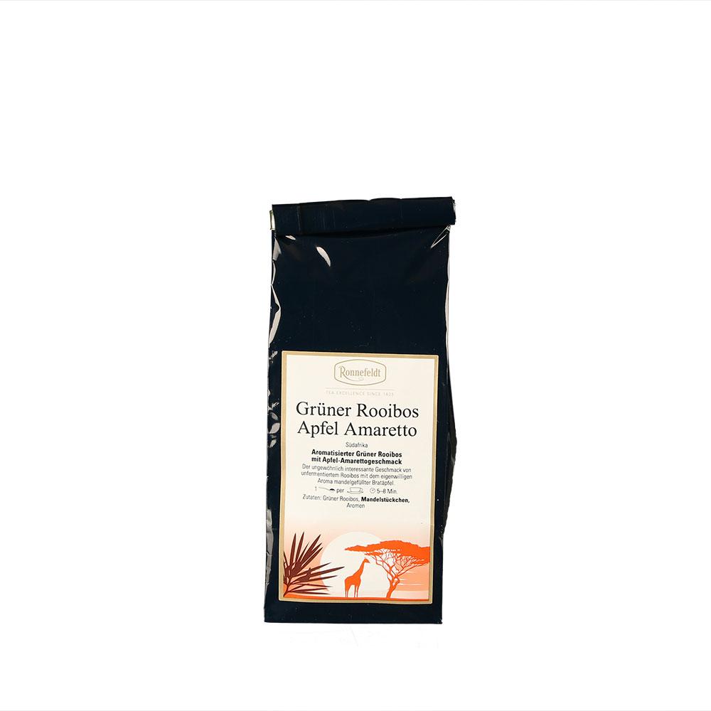 Grüner Rooibos aromatisiert mit Apfel-Amarettogeschmack