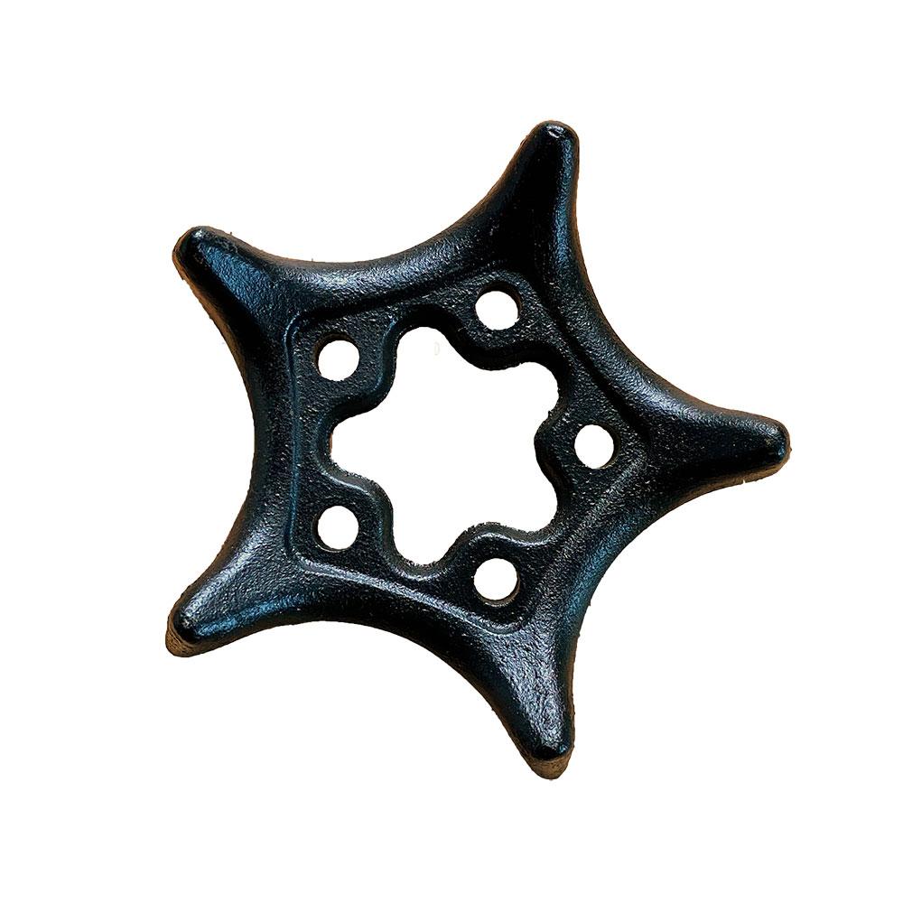 Teekannen-Untersetzer Star, Gusseisen