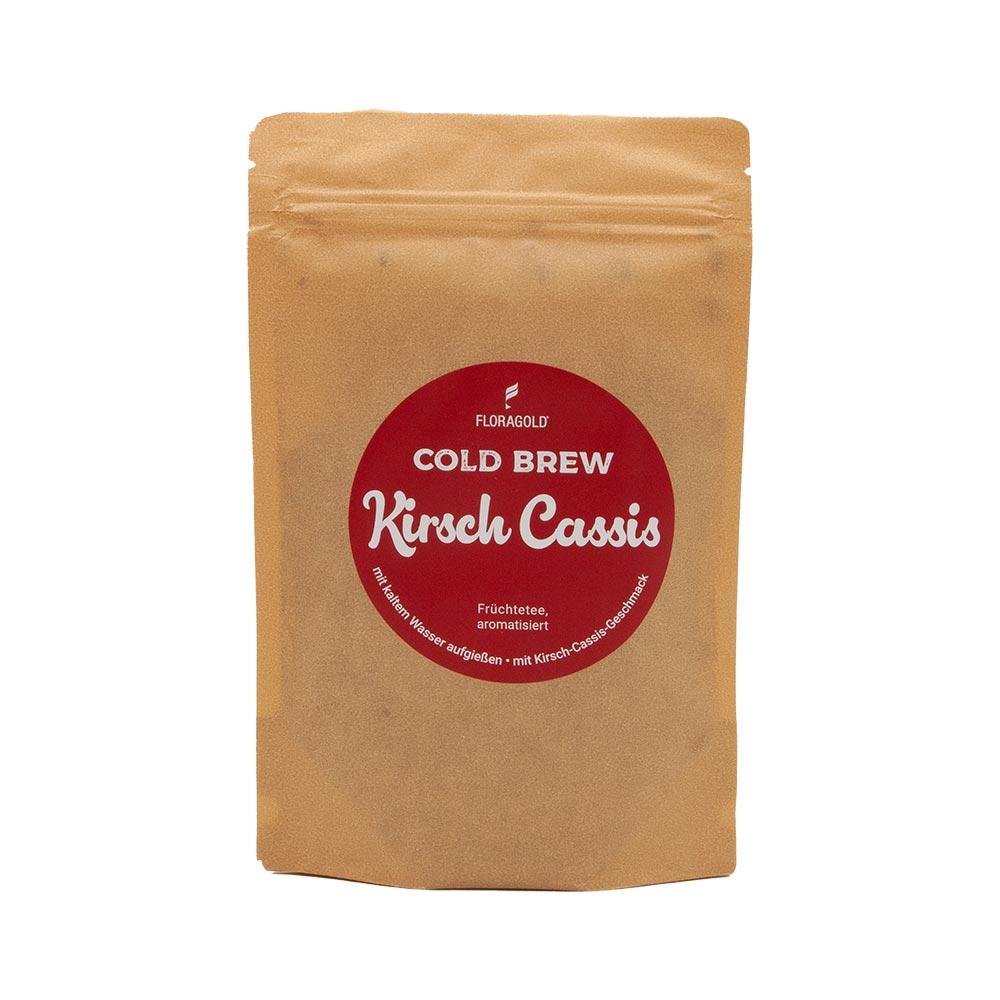 Cold Brew Kirsch Cassis – aromatisierter Früchtetee
