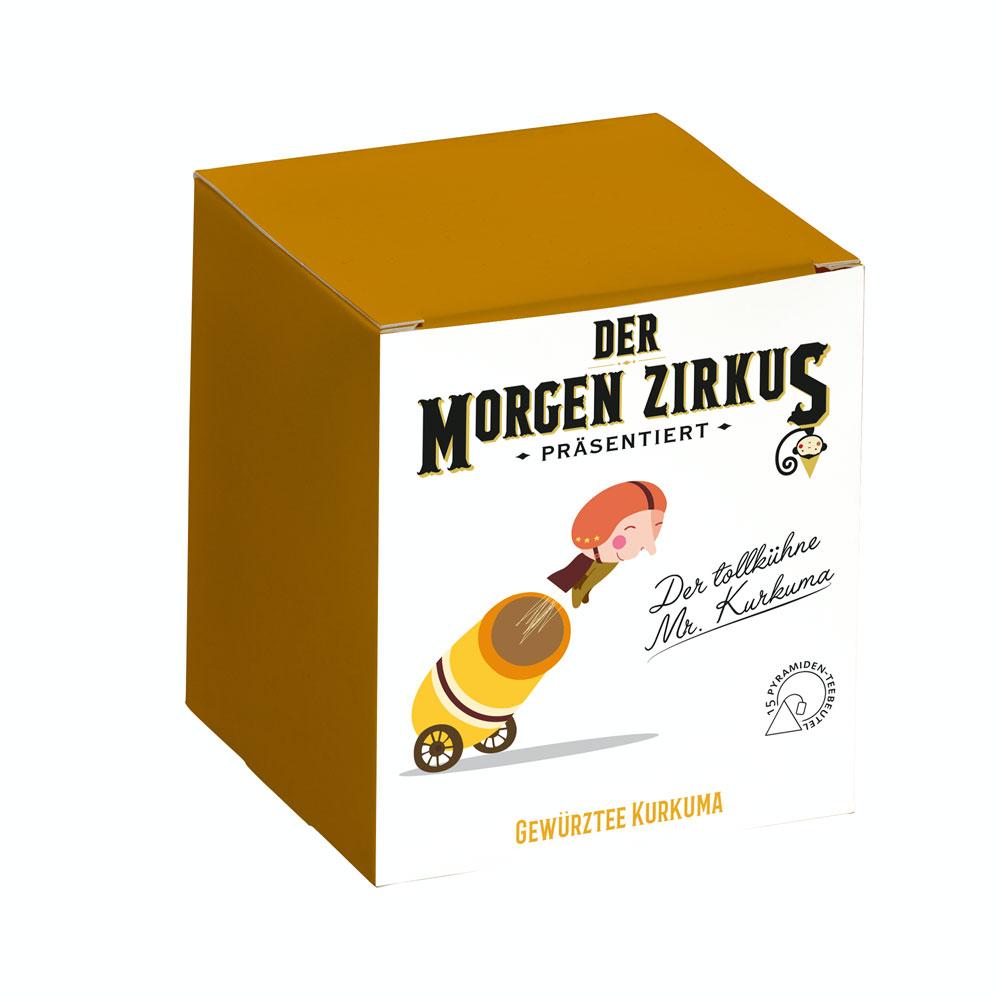 Der tollkühne Mr. Kurkuma - Aromatisierte Gewürz-/Früchteteemischung