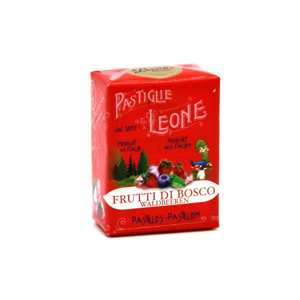 Pastiglie Leone - aromatische Pastillen Waldbeeren, 30g