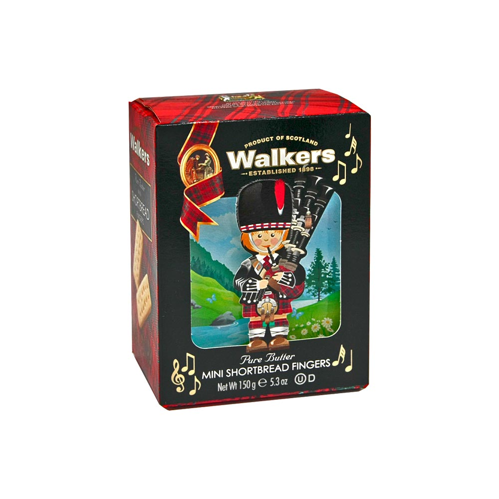 Walkers Shortbread Fingers - Die traditionellste Shortbread-Form, 150 g