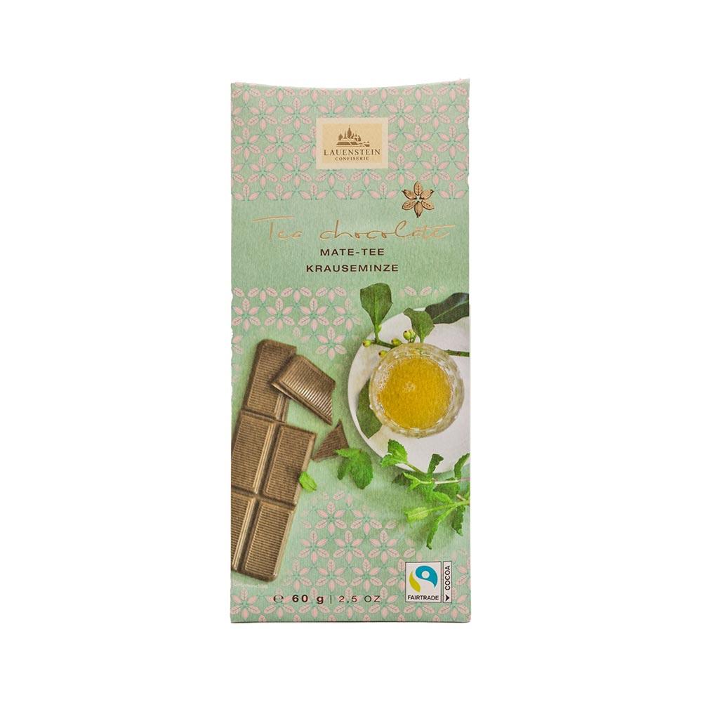 Lauenstein - Teeschokolade Mate-Tee Krauseminze