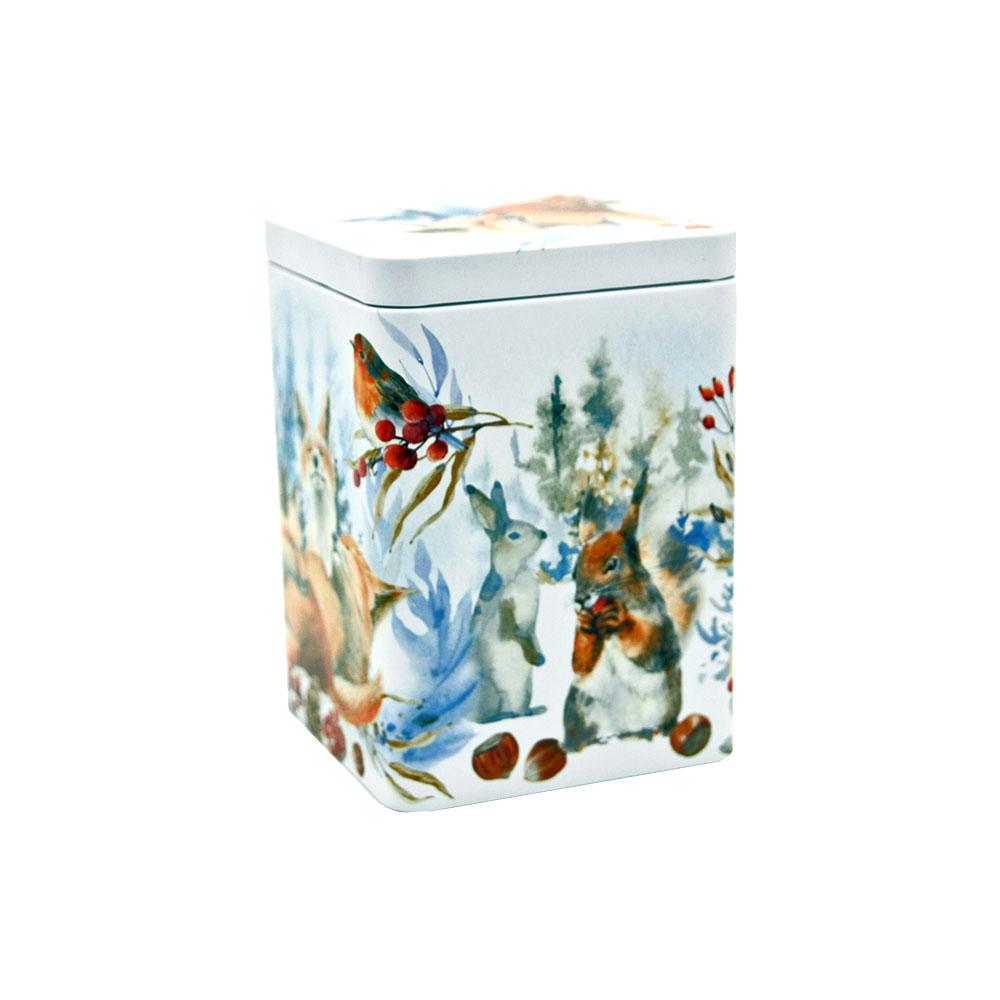 Teedose Fox - zum Aufbewahren von losem Tee, 200 g