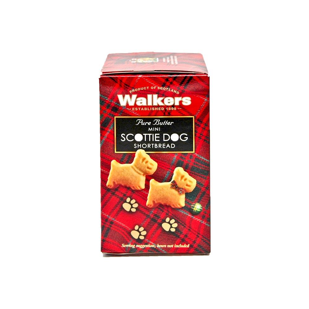 Walkers Pure Butter Shortbread Mini Scottie Dogs, 150g