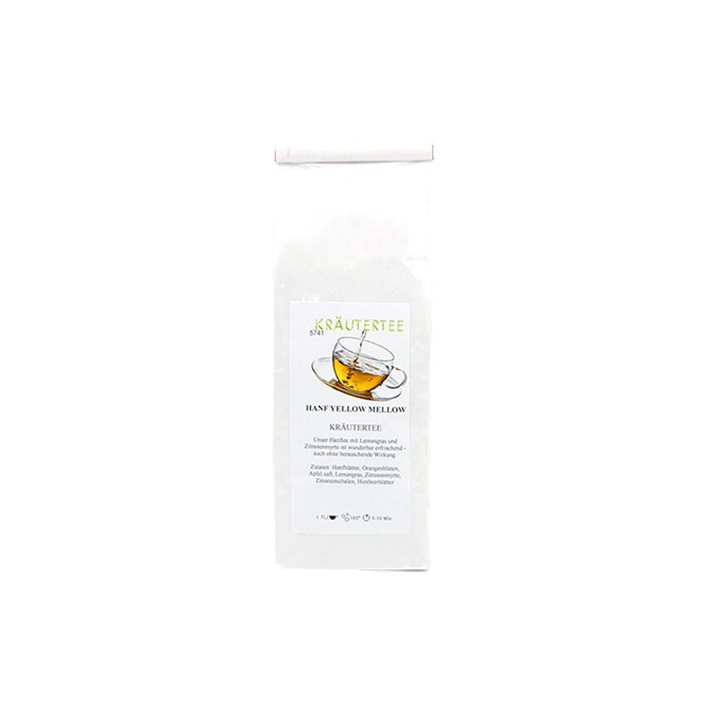 Kräutertee Hanf Yellow Mellow mit Lemongras und Zitronenmyrthe