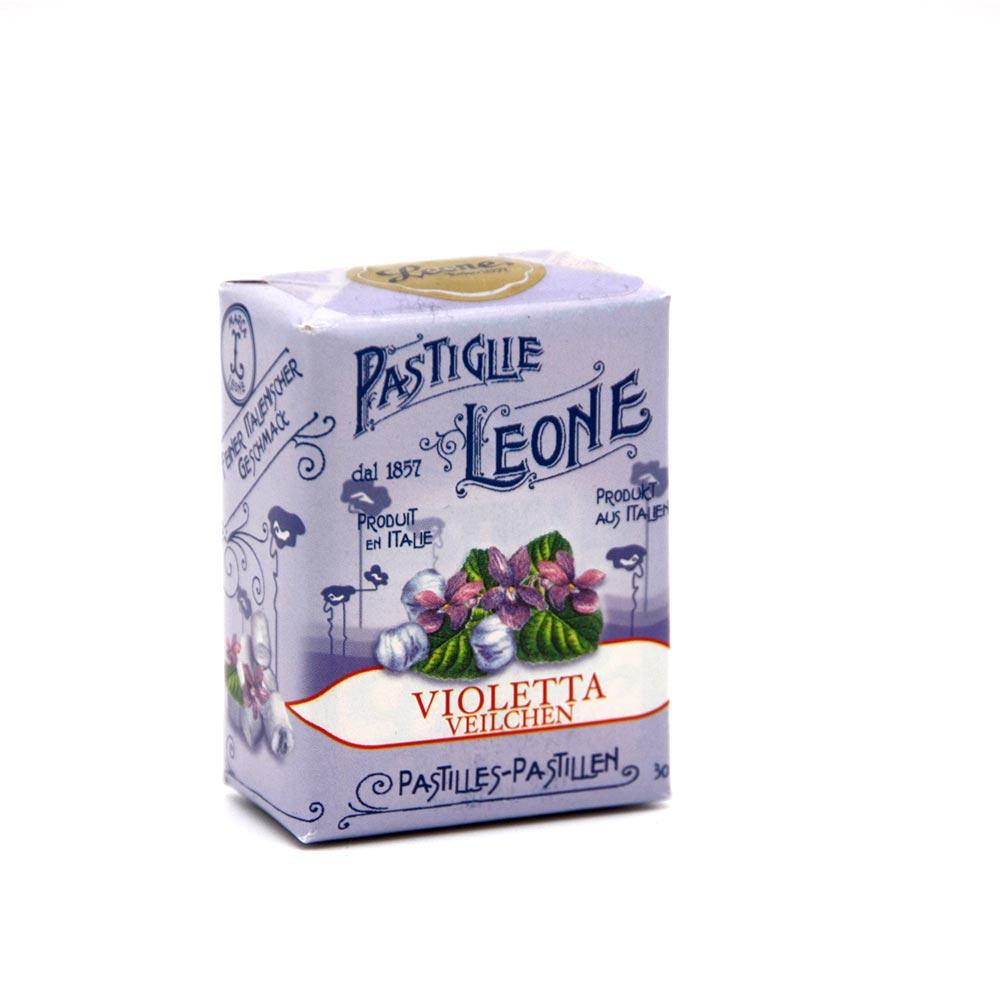 Pastiglie Leone - aromatische Pastillen Veilchen, 30g
