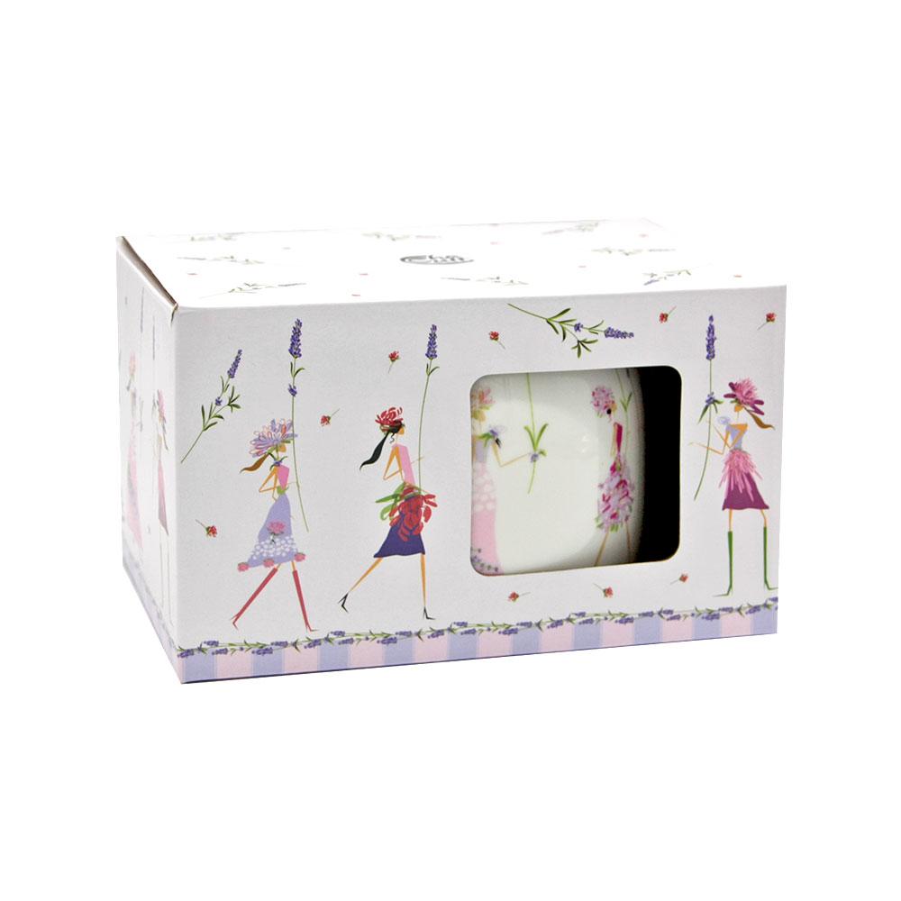 """Teekanne """"Flower Girls"""" Geschenkbox 0,6 Liter"""