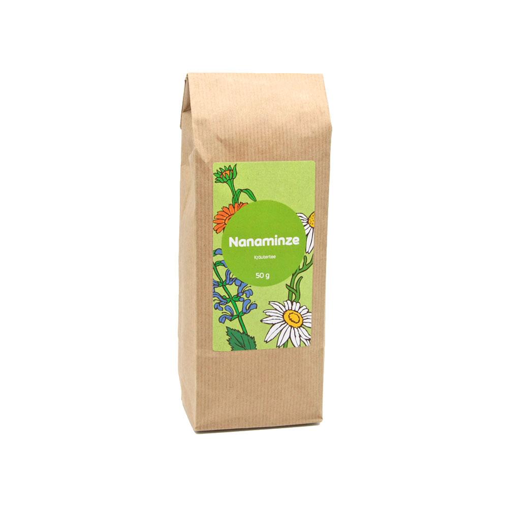 Kräutertee mit aromatischer Nanaminze