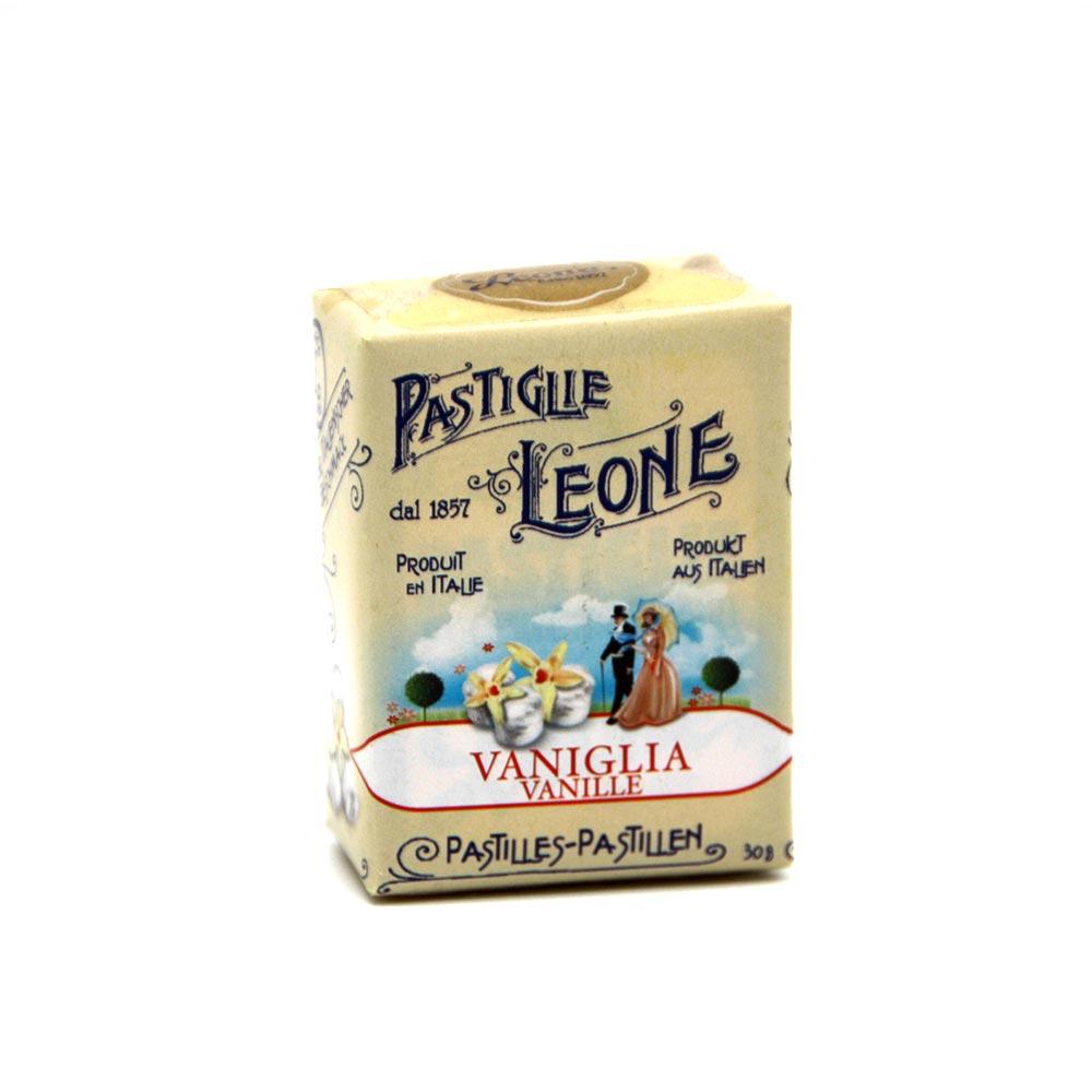 Pastiglie Leone - aromatische Pastillen Vanille, 30g
