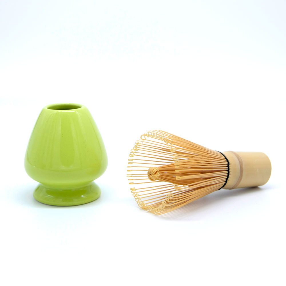 Bambusbesenhalter aus Porzellan
