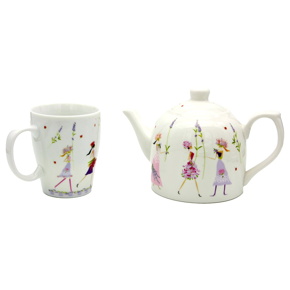 "Teetasse ""Flower Girls"""