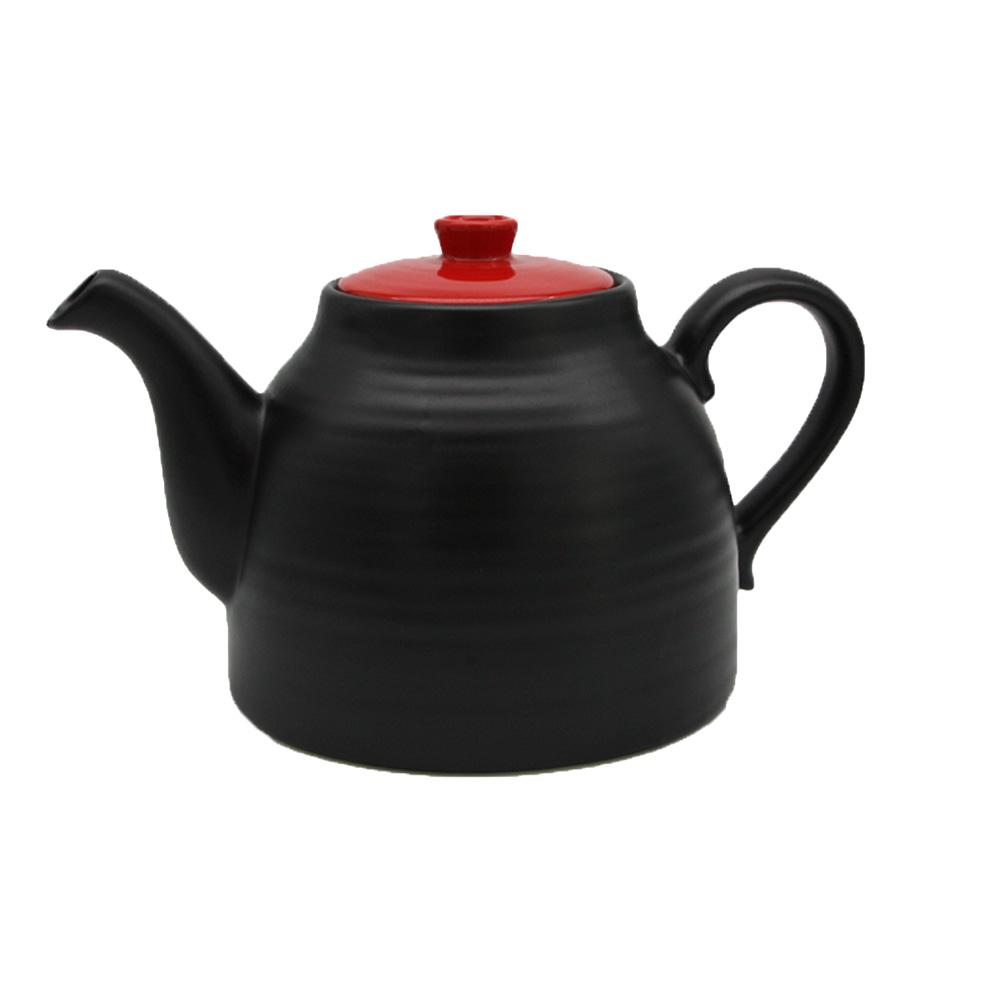 """Teekanne """"Yunnan"""" 1,8 Liter, schwarz"""