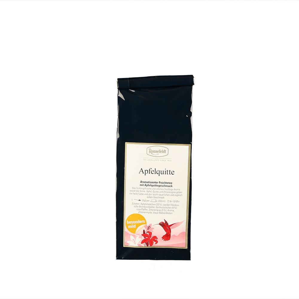 Aromatisierter Früchtetee mit Apfelquittegeschmack