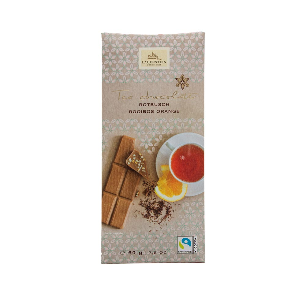 Lauenstein - Teeschokolade Rotbusch Rooibos Orange