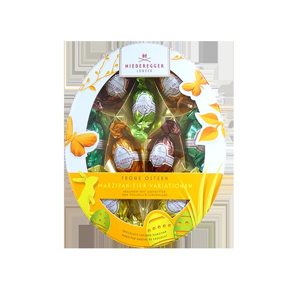 Niederegger Marzipan Eier-Variation oval, 150 g