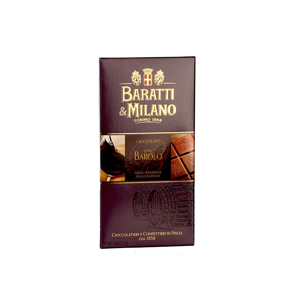 Baratti & Milano Vollmilchschokolade mit Barolo-Wein