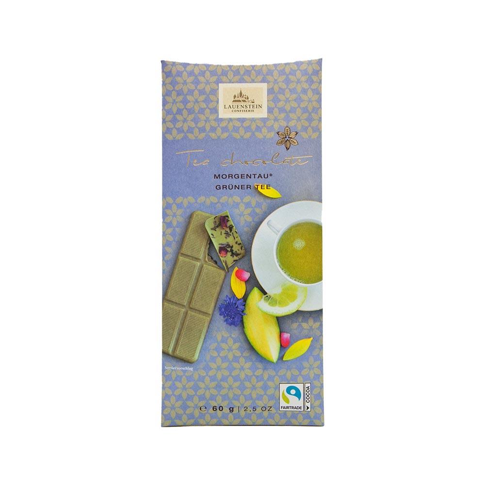Lauenstein - Teeschokolade Morgentau - grüner Tee