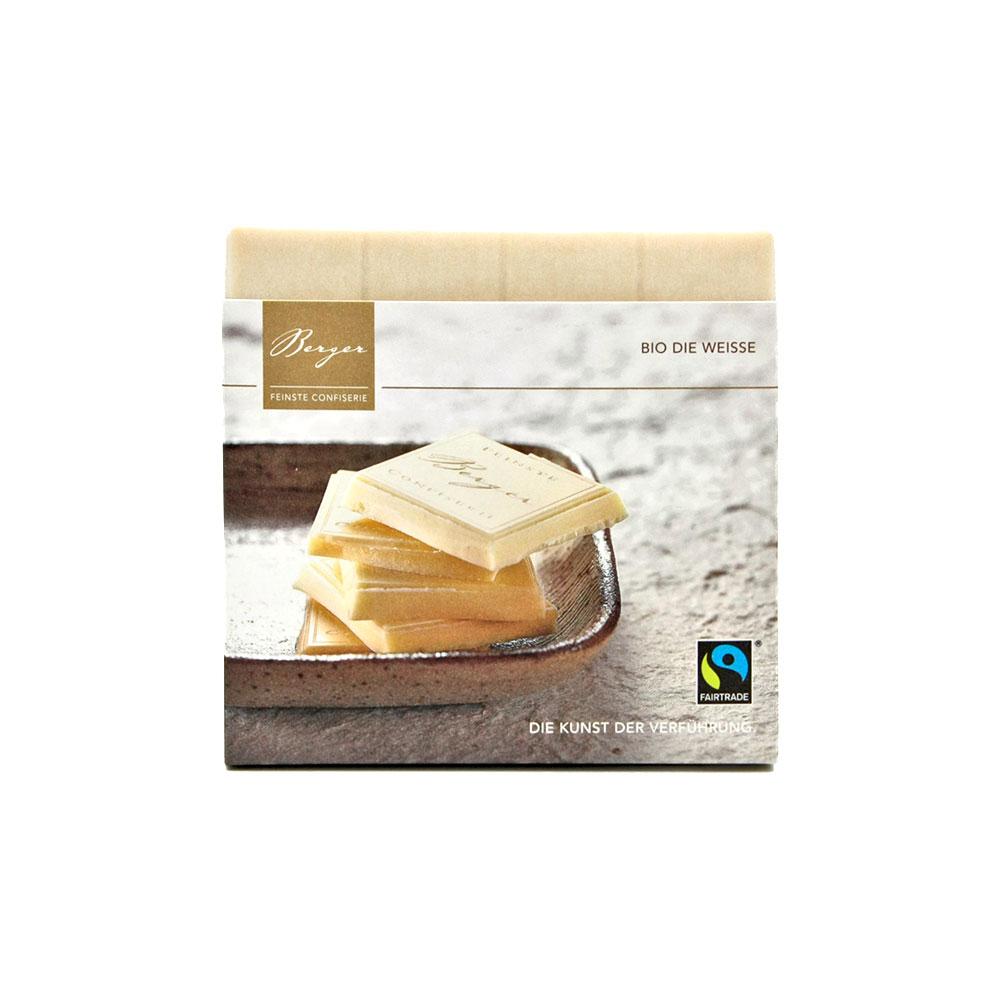 Berger - Die Weisse Schokolade, 90 g