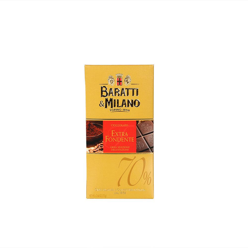 Baratti & Milano extra dunkle Schokolade 70%