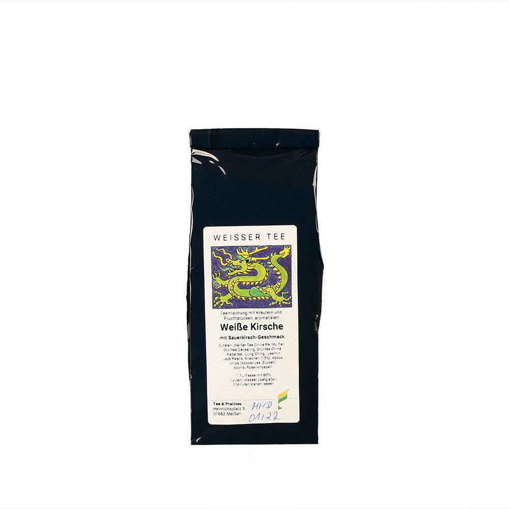 Weiße Kirsche aromatisierter Weißer Tee