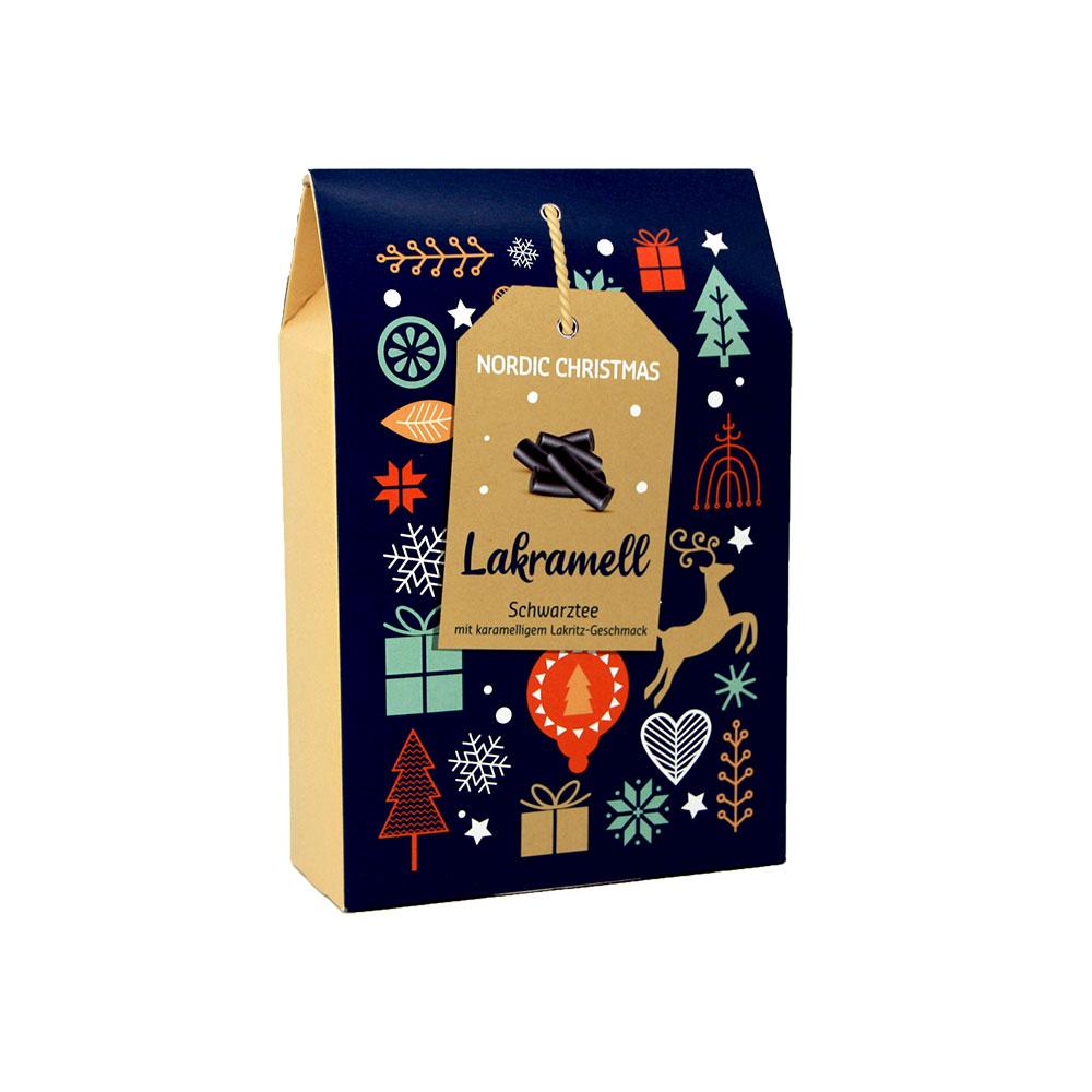 Lakramell - aromatisierte Schwarztee-/Gewürzmischung