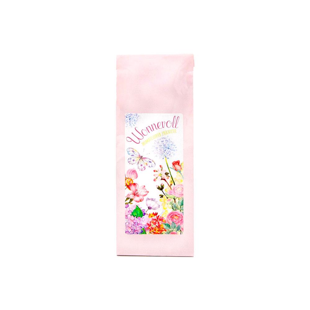 Wonnevoll - aromatisierter Früchtetee mit Vanille-Sahne Geschmack