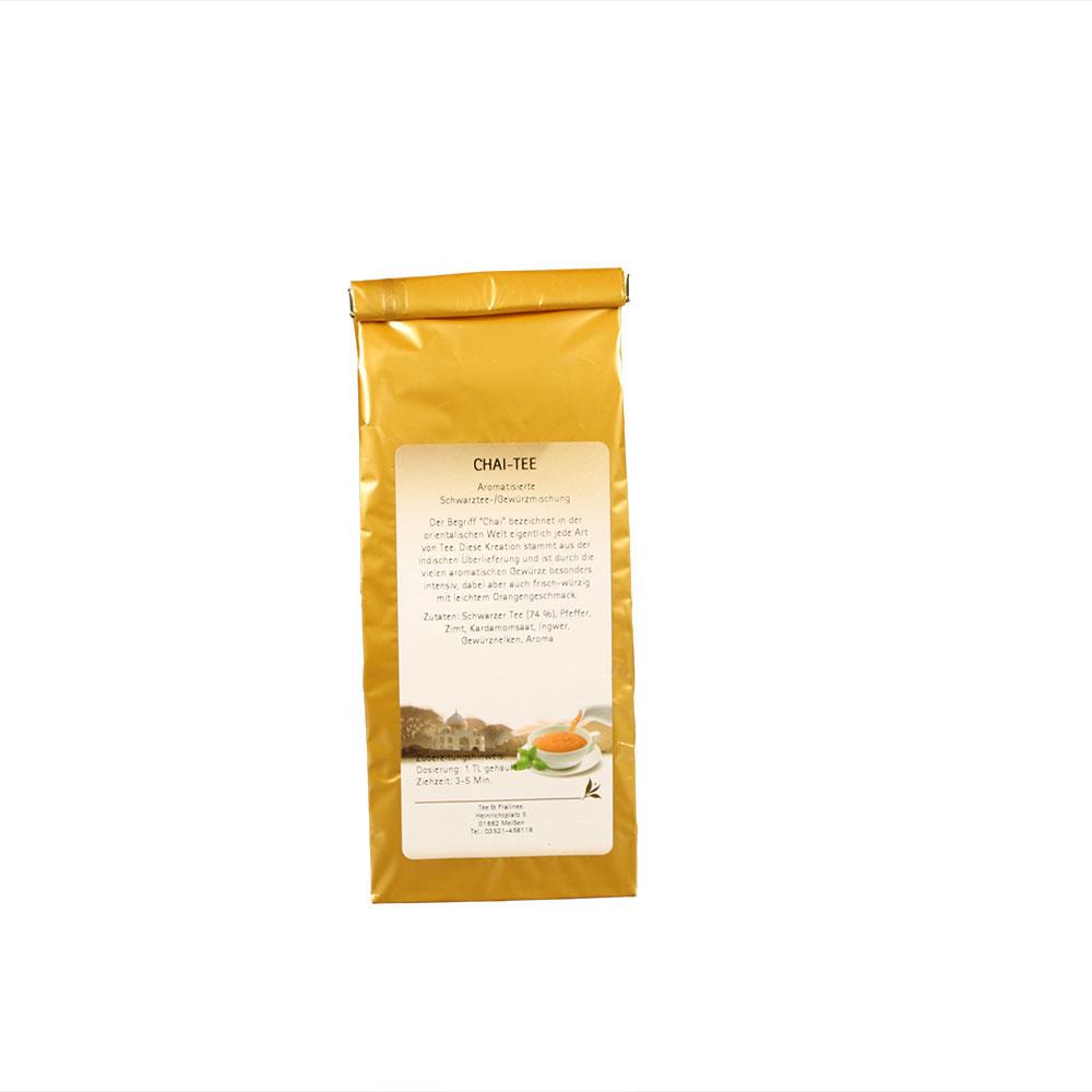 Chai Tee - aromatisierter Schwarzer Tee